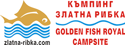 Golden Fish Royal Campsite Logo
